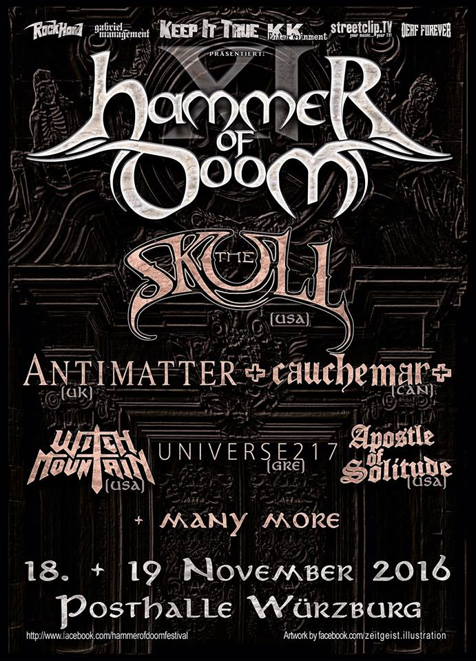 Hammer of Doom 2016 Poster